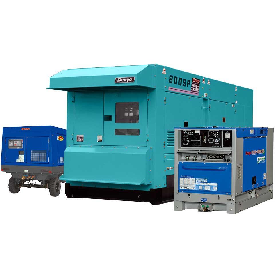 機械輸出部・取扱商品・Denyo DCA-800SPK