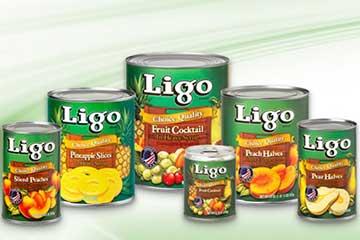 LIGOフルーツ缶詰
